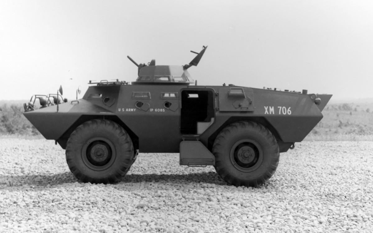 Photographed at Fort Knox on July 26, 1965 by the Armor and Engineer Board, this XM706 is typical of the type of vehicle initially supplied to ARVN.