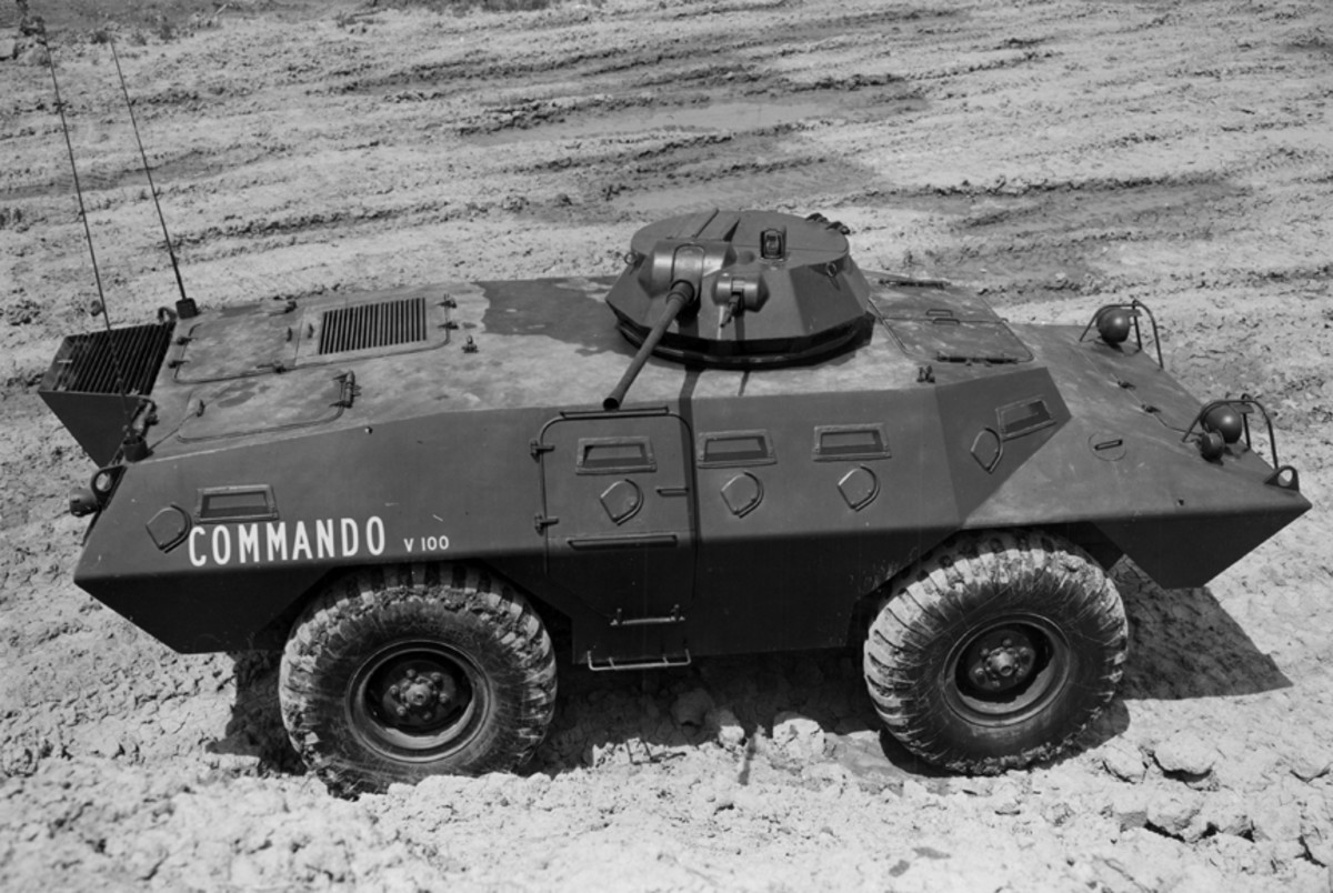This early Commando is equipped with the T-70 turret, mounting a 20mm cannon in addition to the machine gun. Despite extensive testing, this turret was never placed into production.