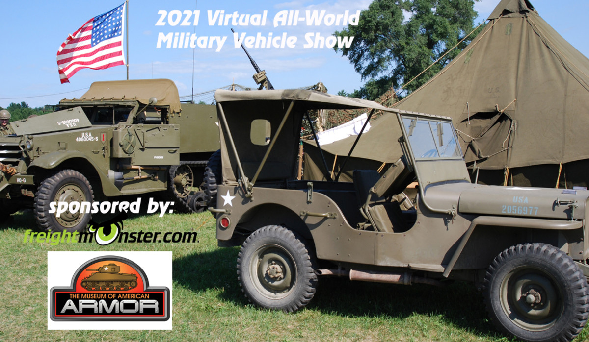 Enter your vehicle or just look around in our 2021 ONLINE Military Vehicle Show.
