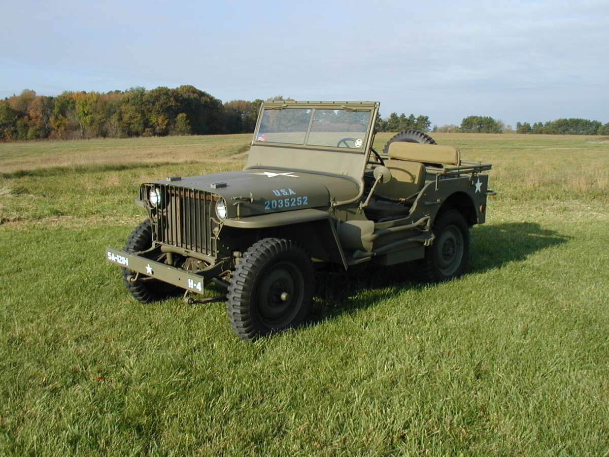 1941 Willys MB 103677, date of deliver, 12-12-41.