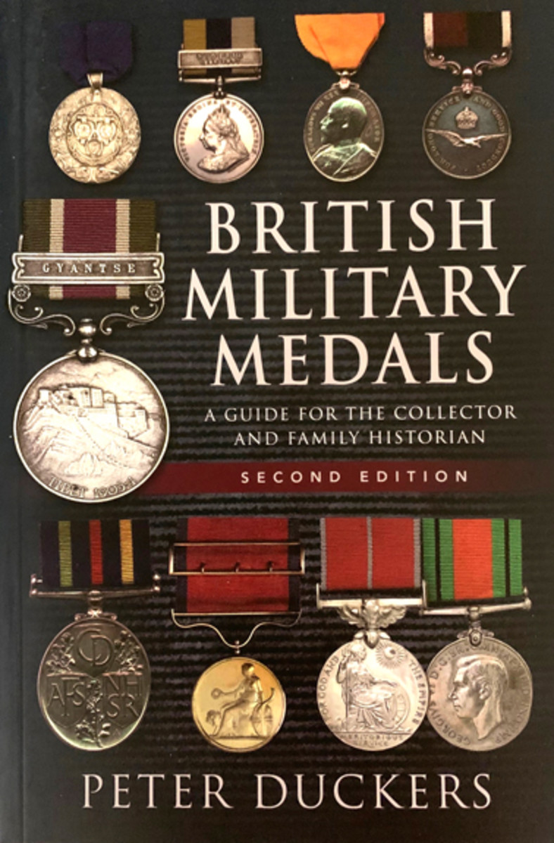 British Military Medals: A Guide for the Collector and Family Historian also available through Amazon