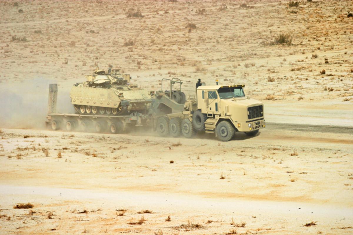 Heavy Equipment Transporter (HET).
