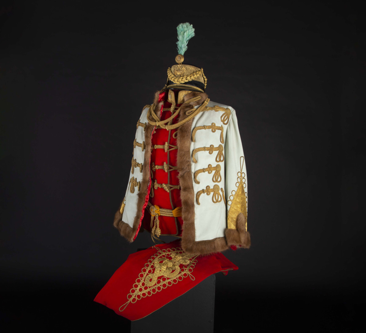 A uniform of an Austrian general of the cavalry in Hungarian gala-adjustment, circa 1900, Austria, 1890 – 1910.