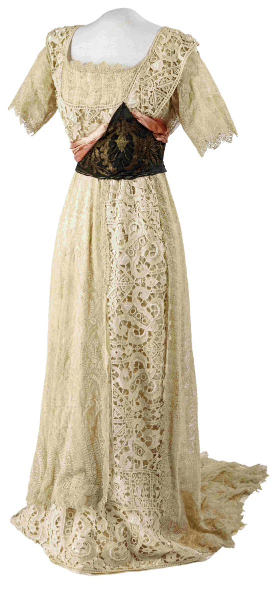 Embress Elisabeth of Austria - a dress, Germany, ca 1870/80, tailored by Marie Braun in Munnch, ca 1870/80.