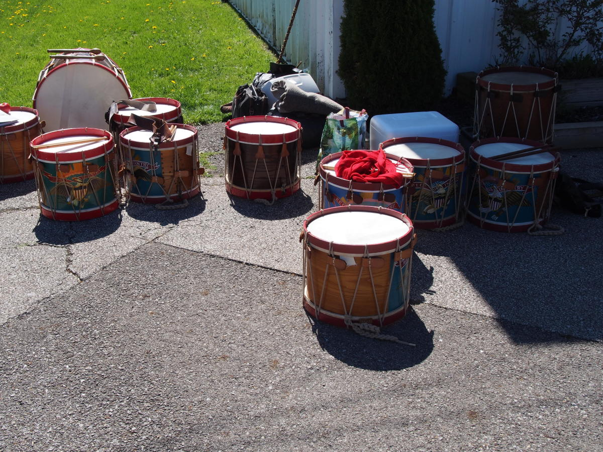 """At the Ohio Civil War Show you """"travel to the beat of a different drum."""""""