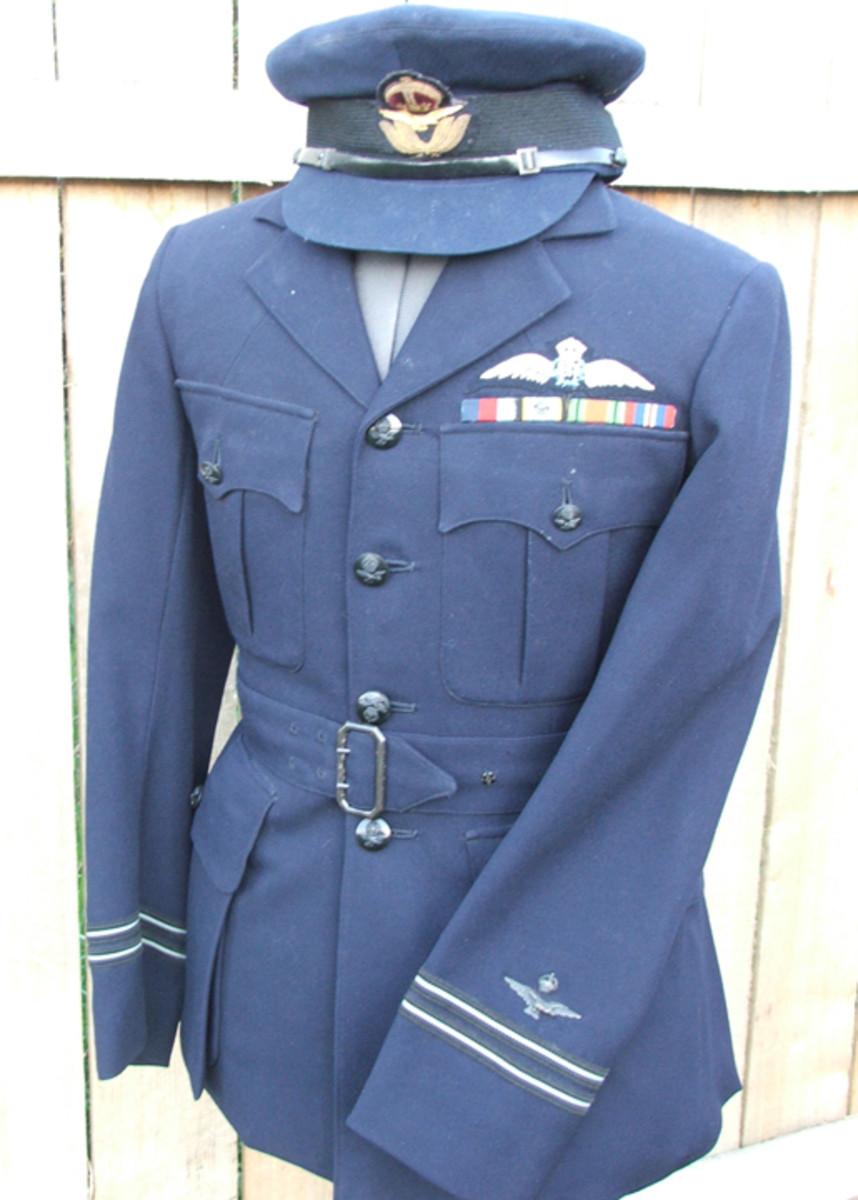 Walter McBean's uniform jacket and cap