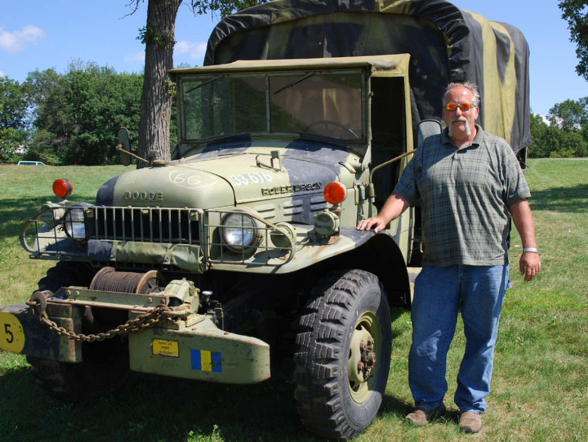 Marvin Dahlke imported this ex-Danish Army W300M, still in its original military configuration.