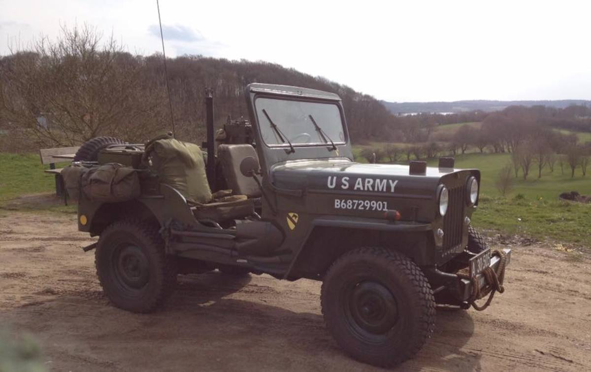 M606 Jeep with US Army markings.