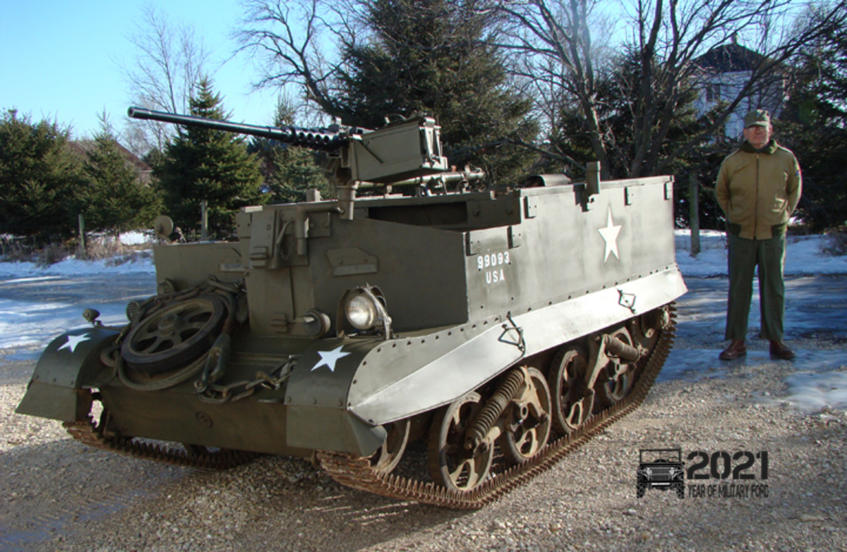 Chuck Roberts of the Roberts Armory sent this photo of a T-16 universal carrier.