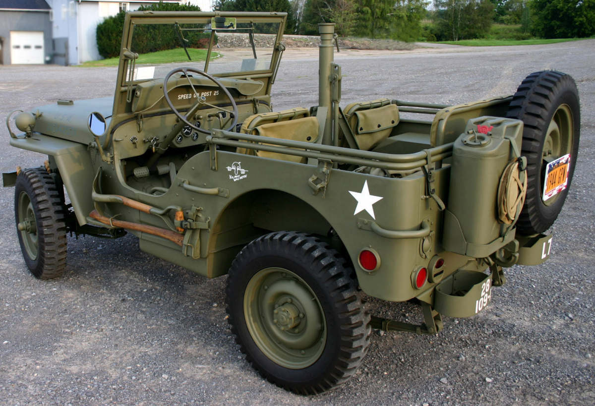 Richard Senges shared this photo of a restored 1944 GPW.