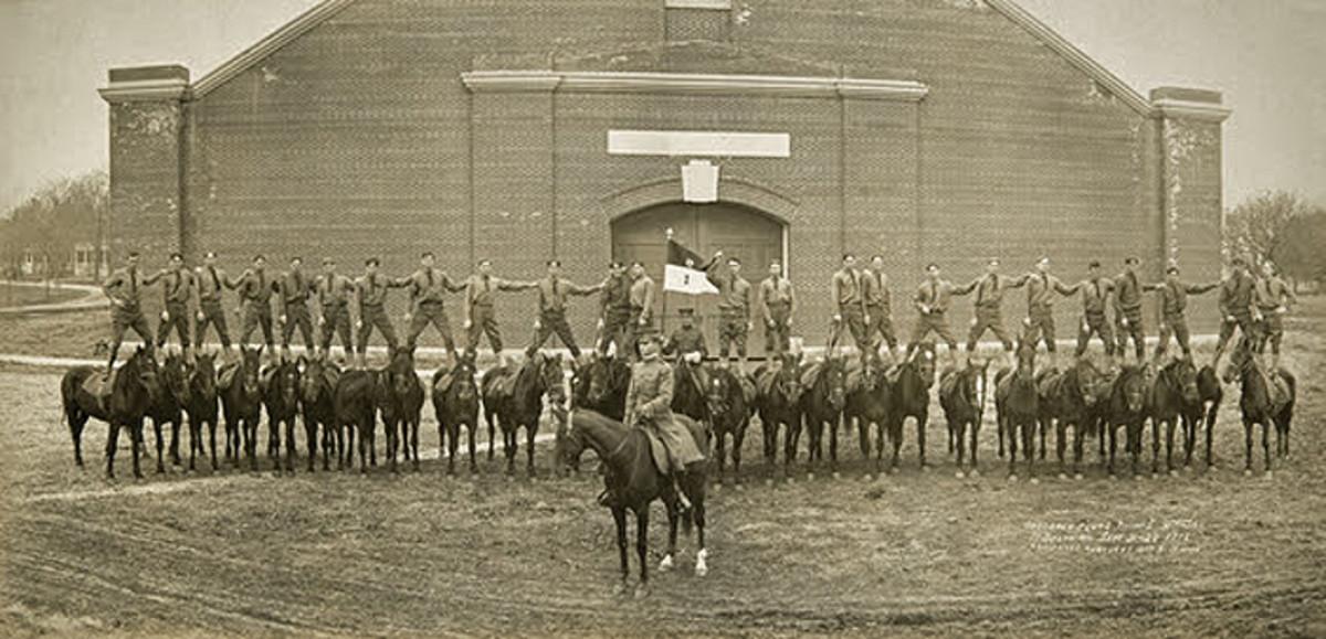 2nd Cavalry Bareback Squadron 1908