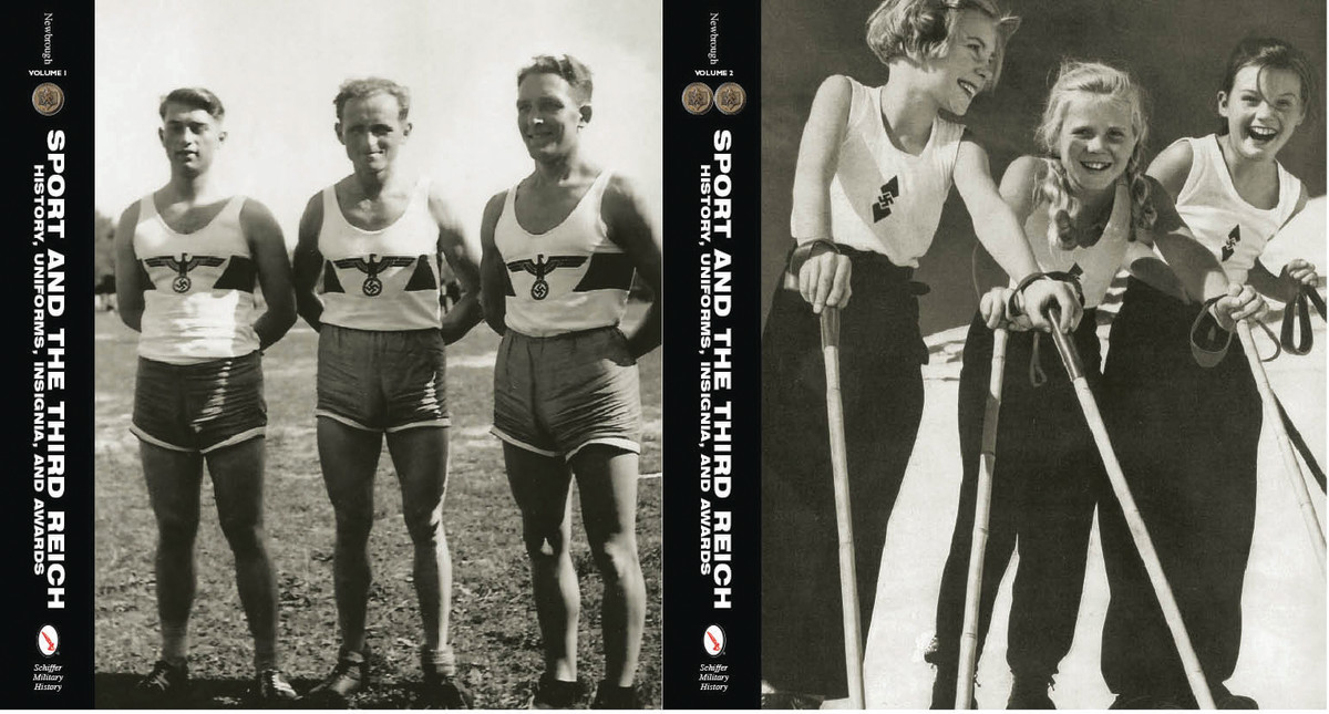 Sport in the Third Reich, by Rob Newbrough Two volume-set