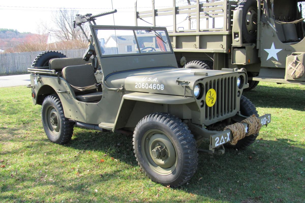 Jerry Nolan's 1944 GPW.