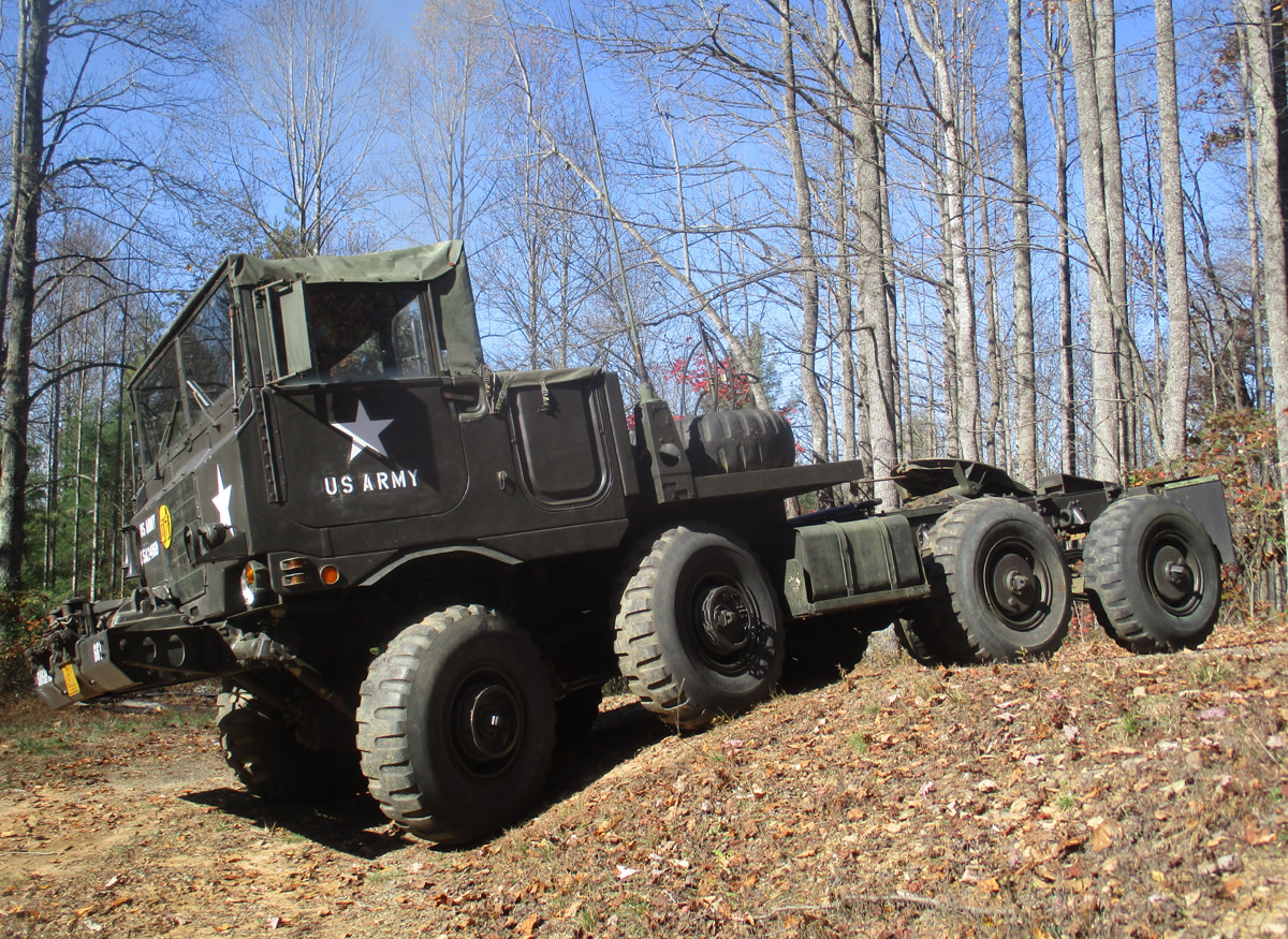 Bjorn Brandstedt's Ford-built XM757, a prototype for the M656 5-ton 8X8 truck.