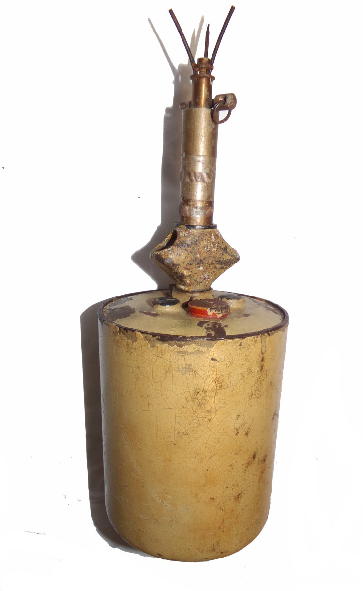 """The """"bouncing Betty"""" S-Mine was the scourge of Allied infantrymen."""