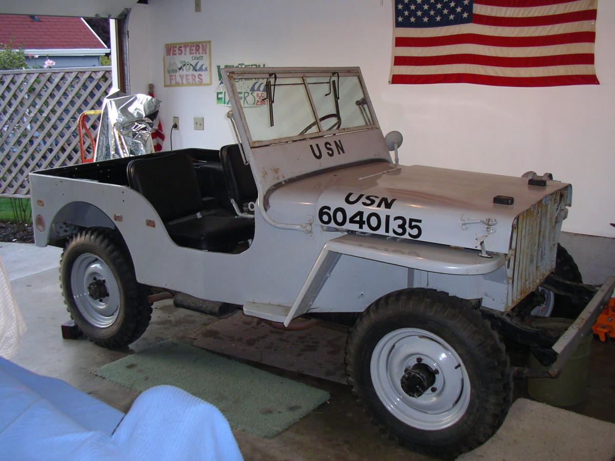 I purchased my second jeep, a 1942 slat-grille a year and a half after completing my first project. It's funny how much more body damage you find after you get a project home! I am happy with the results though.
