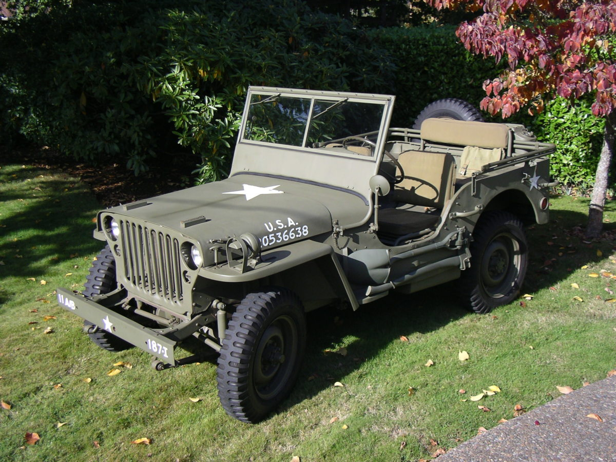 """After 36 years in the Laney family, the 1944 GPW is finally restored to honor the veterans of WWII and in particular, the """"Angels"""" of the 11th Airborne Division."""