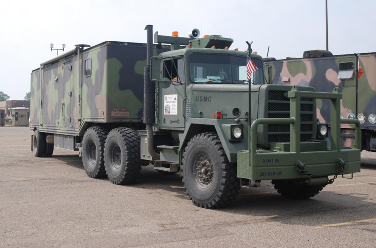 Ken Field's convoying setup.