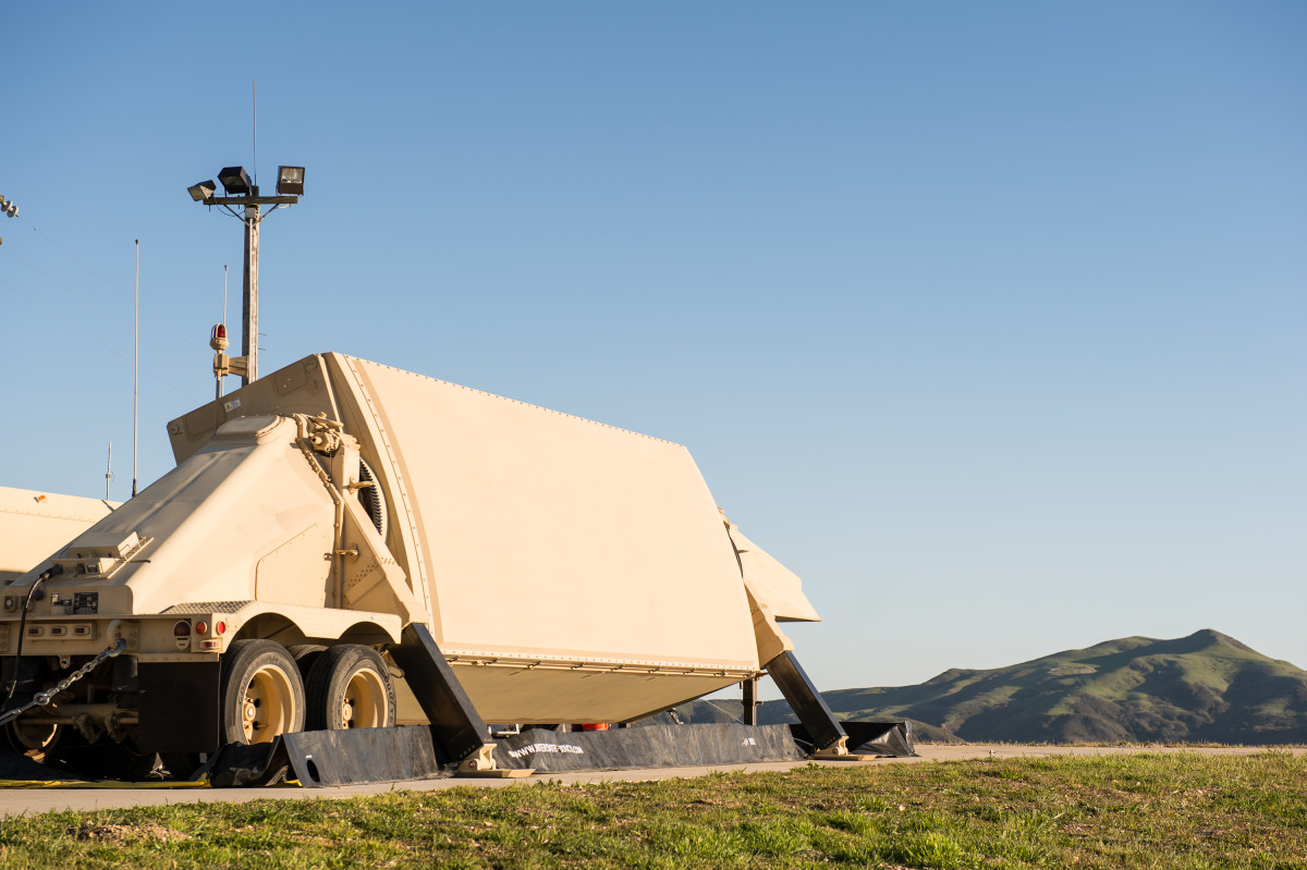 """The AN/TPY-2 radar defends against the growing ballistic missile threat. It performs in two modes: Forward-based and terminal. In forward-based mode, it detects ballistic missiles at long ranges. In terminal mode, it is the dedicated radar for the THAAD missile system. According to manufacturer's literature, """"Raytheon has delivered ten AN/TPY-2s to date, and is in the process of building two more for the U.S. customer, and two for international partners."""""""
