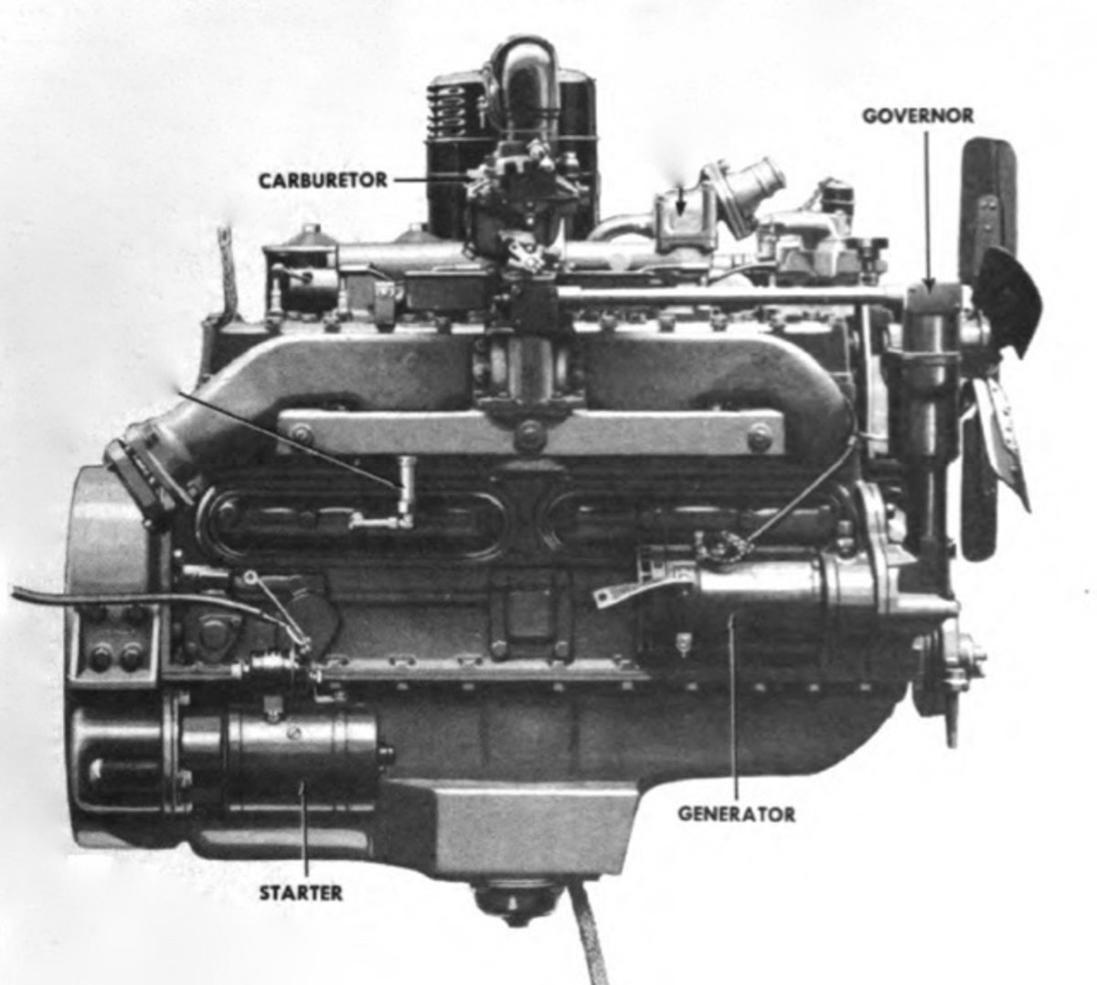 The Model 968 was fitted with a larger, more powerful Hercules RXC engine