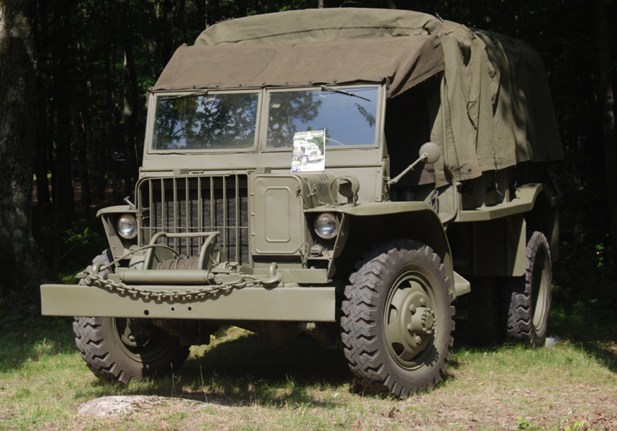 """Our """"Military Vehicle Pinup Truck"""" (geez, I really did plunge over the cliff this year!) went to Arlen Anklin's Ford GTB. You might recognize it from the cover of the August 2021 issue of MVM)."""