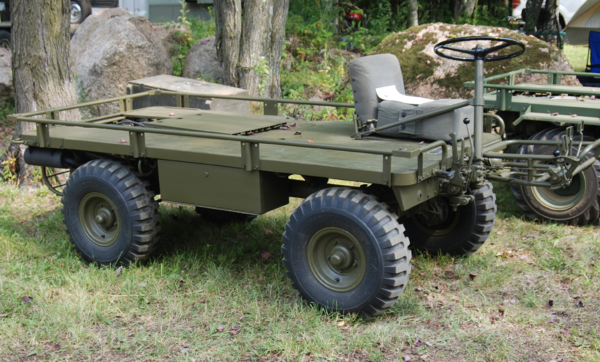 """""""Oldest A$%"""" went to Brad Holcomb for his fully restored to original configuration 1959 Willys M274."""