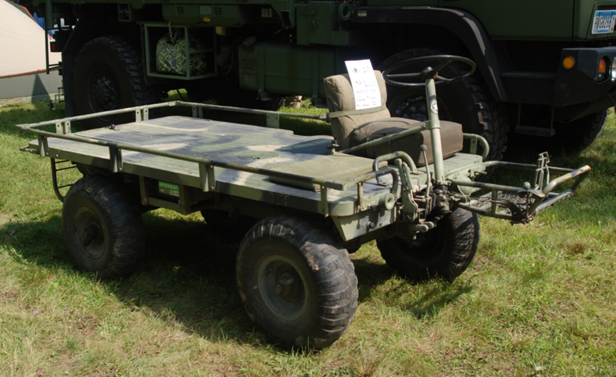 """I really took a plunge into the inappropriate when I had to announce that LaDonna Meyer's 1968 M274A5 was deemed the """"Flattest Deck on Four Wheels."""""""