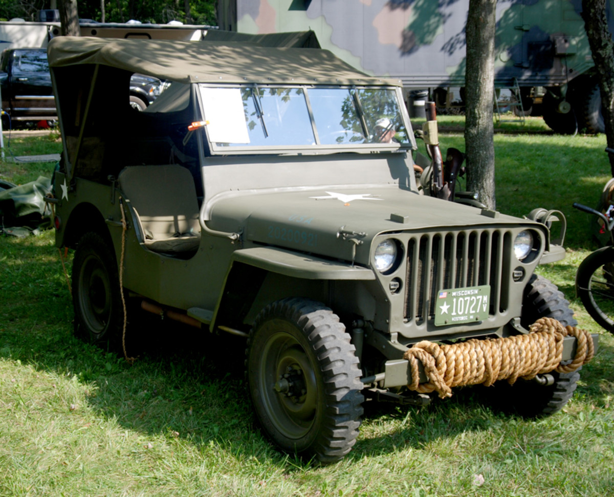 """""""Freshest Rope Bumper"""" went to Jeffrey Marshall for his 1943 GPW."""
