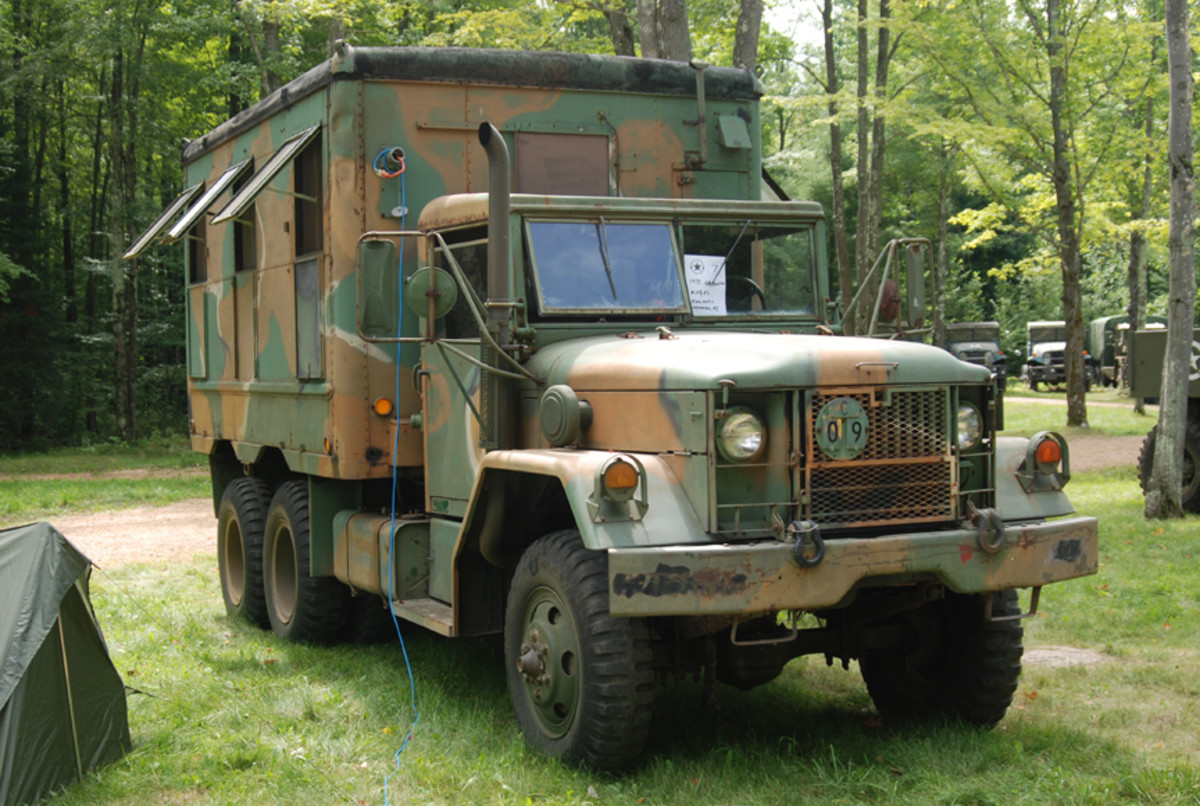 """""""Best Prepared for a Bugout"""" went to Steve Harris' 1971 AM General M109A3."""