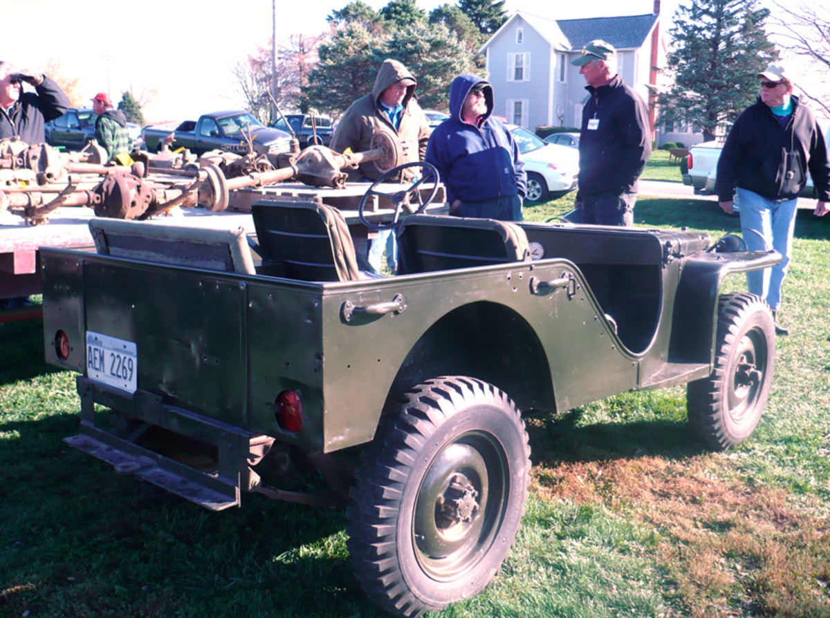 Bantam Reconnaissance Car 40;2,675 were built with only about 50 or so have survived over the years. No.2609 sold in 2012 after having resided with the same family for 67 years.
